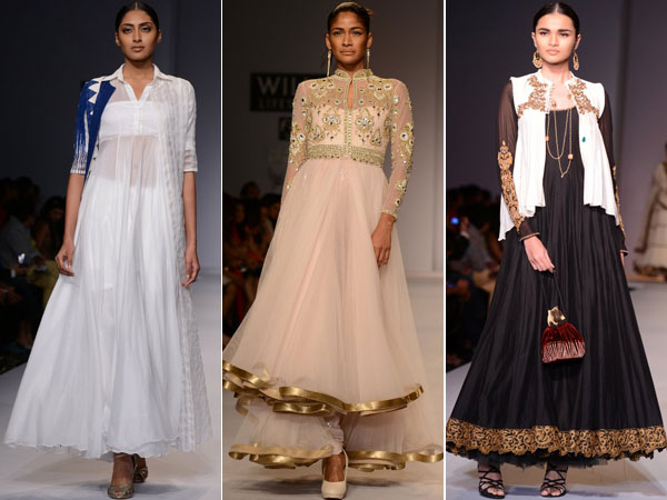 New trendzZ in Anarkali: Over the top Anarkali